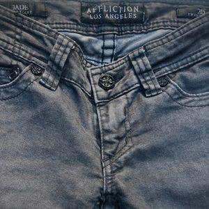 Affliction Jeans   Black   Size 25